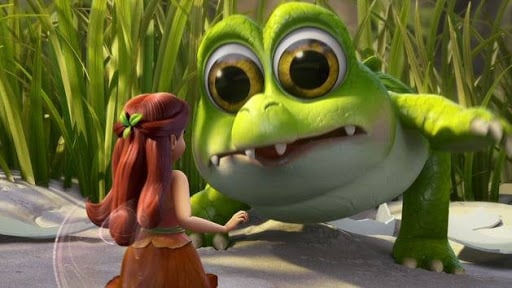 Baby Croc - The Pirate Fairy - Scene