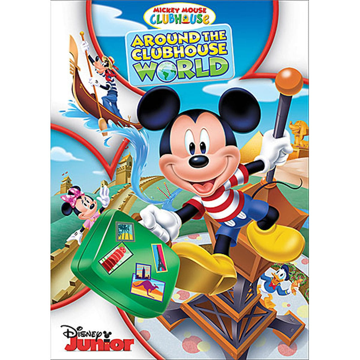 Product Image of Mickey Mouse Clubhouse: Around the Clubhouse World DVD # 1