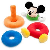Image of Mickey Mouse Plush Stacking Toy for Baby # 2