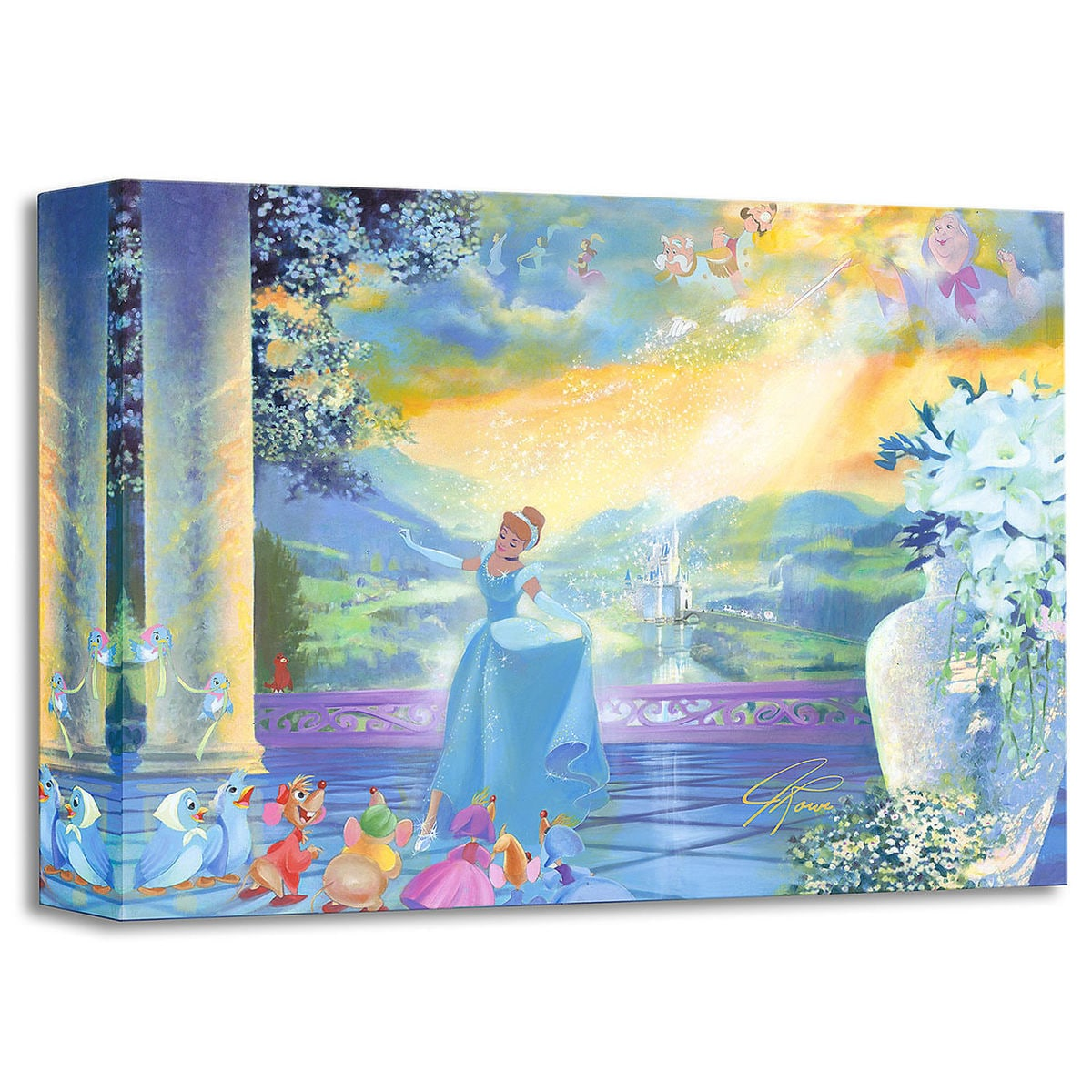 Cinderella \'\'The Life She Dreams Of\'\' Giclée by John Rowe | shopDisney