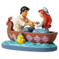 Image of The Little Mermaid ''Waiting for a Kiss'' Figure by Jim Shore # 2
