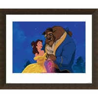 Image of ''Beauty and the Beast Dancing'' Giclé # 5