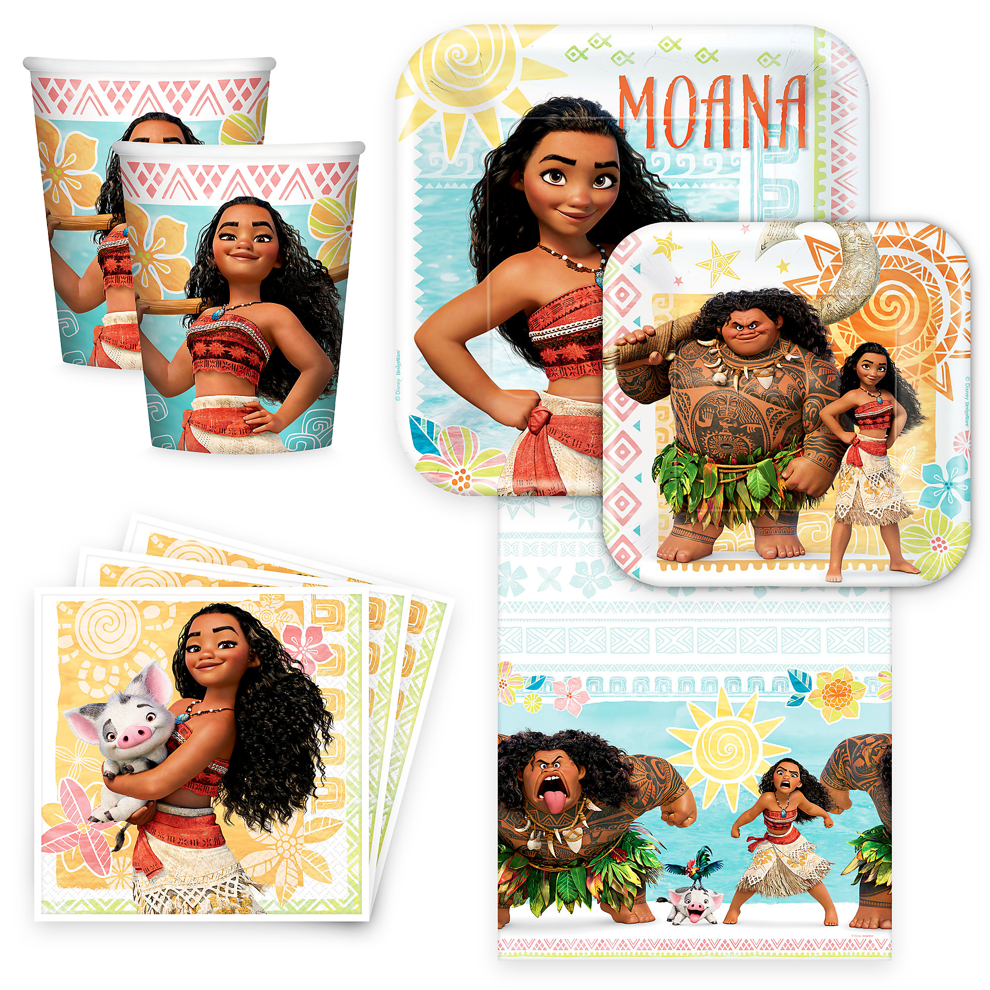 Moana Disney Party Collection