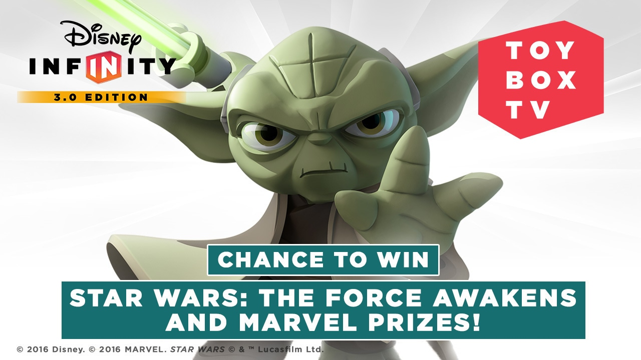 Ep. 108 - Chance to Win Star Wars: The Force Awakens and Marvel Prizes | Disney Infinity Toy Box TV