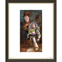 Toy Story ''Buzz & Woody'' Giclée by Darren Wilson