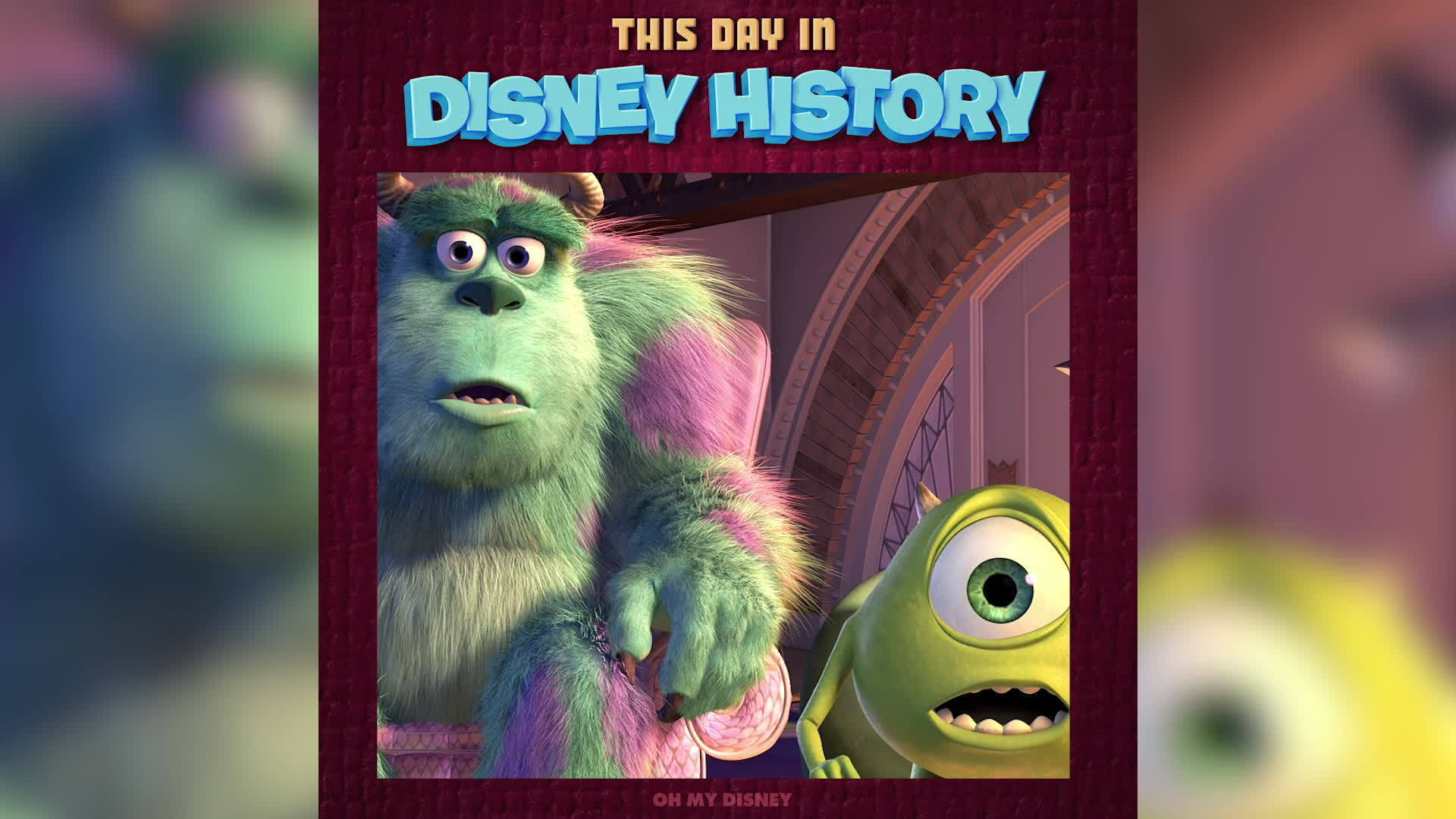 This Day in Disney History: Monsters, Inc. | Oh My Disney