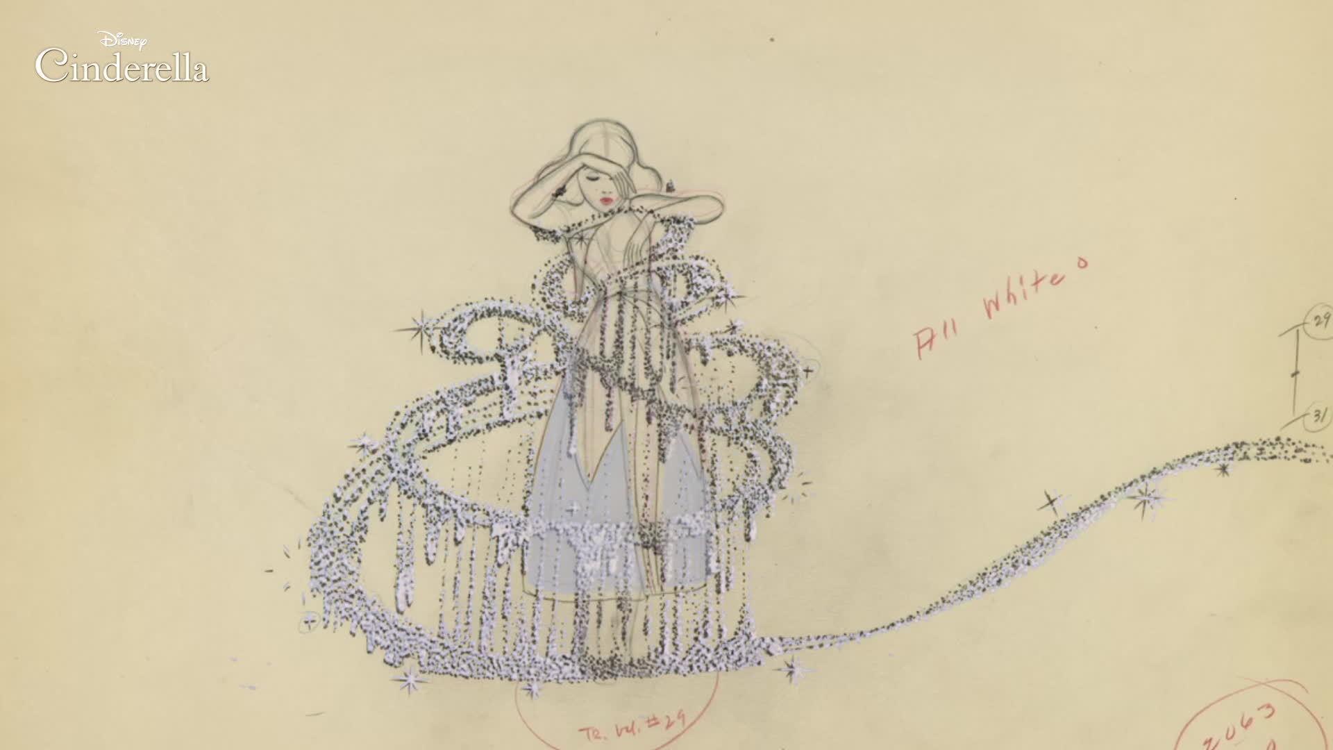 Cinderella Animation: Rough to Final