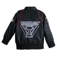 Lightning McQueen Members Only Jacket for Boys - Black