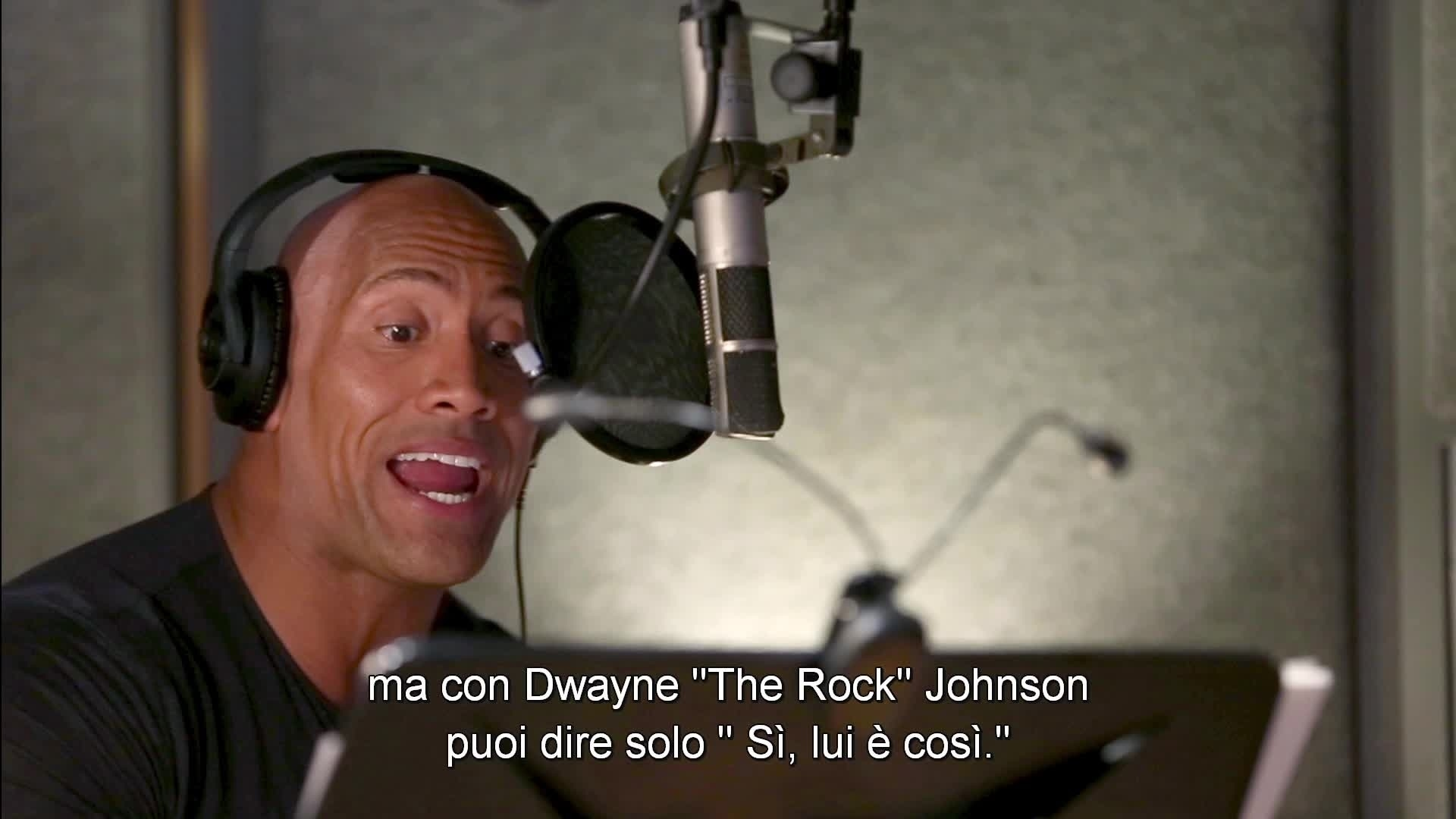 "Non c'è di che - Dwayne ""The Rock"" Johnson - Oceania"