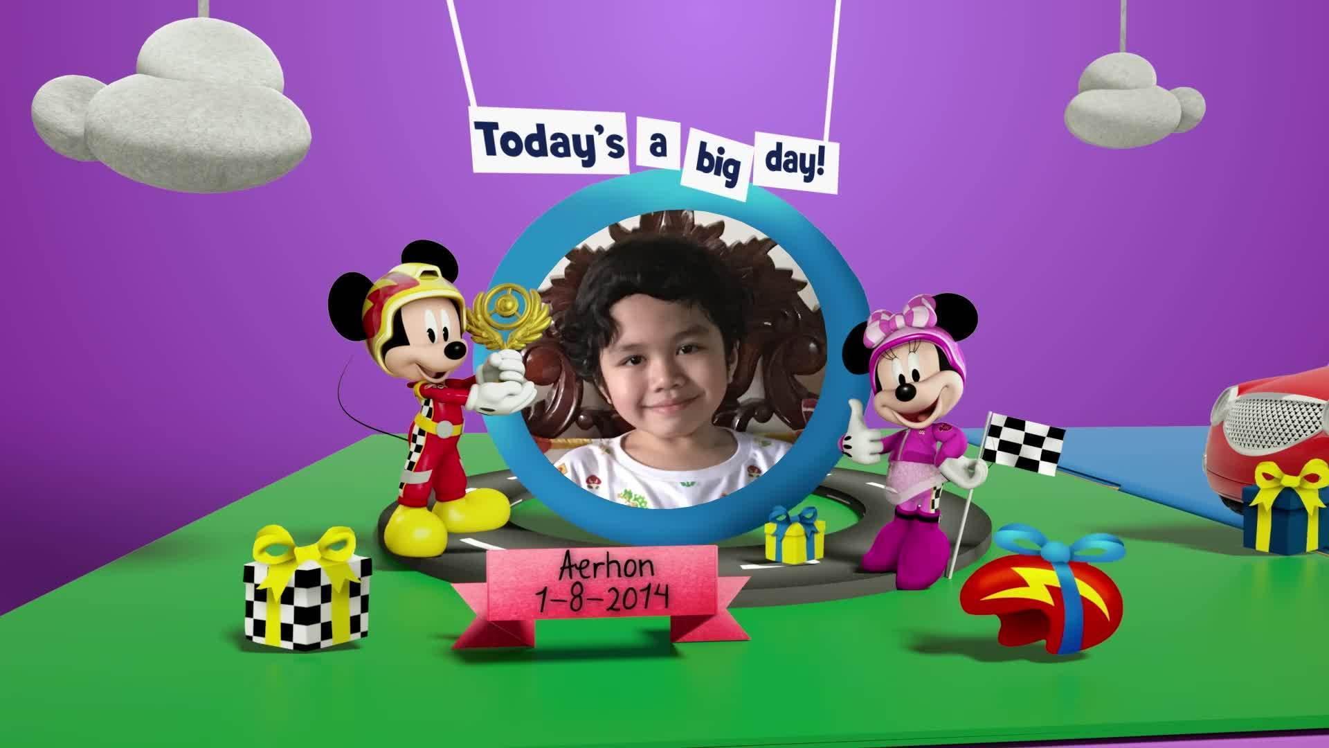 Disney Junior Birthday Book 2021 August Album 2