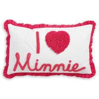 Image of Minnie Mouse Really Ruffle Boudoir Pillow by Ethan Allen # 1