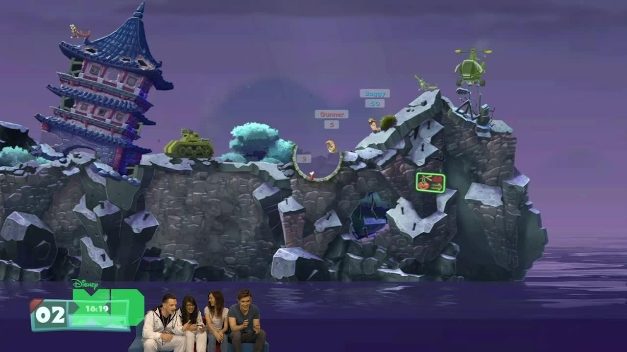 GameFest - GameOn! Worms WMD