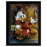 Image of Scrooge McDuck ''Scrooge Treasure'' Giclée by Darren Wilson # 6