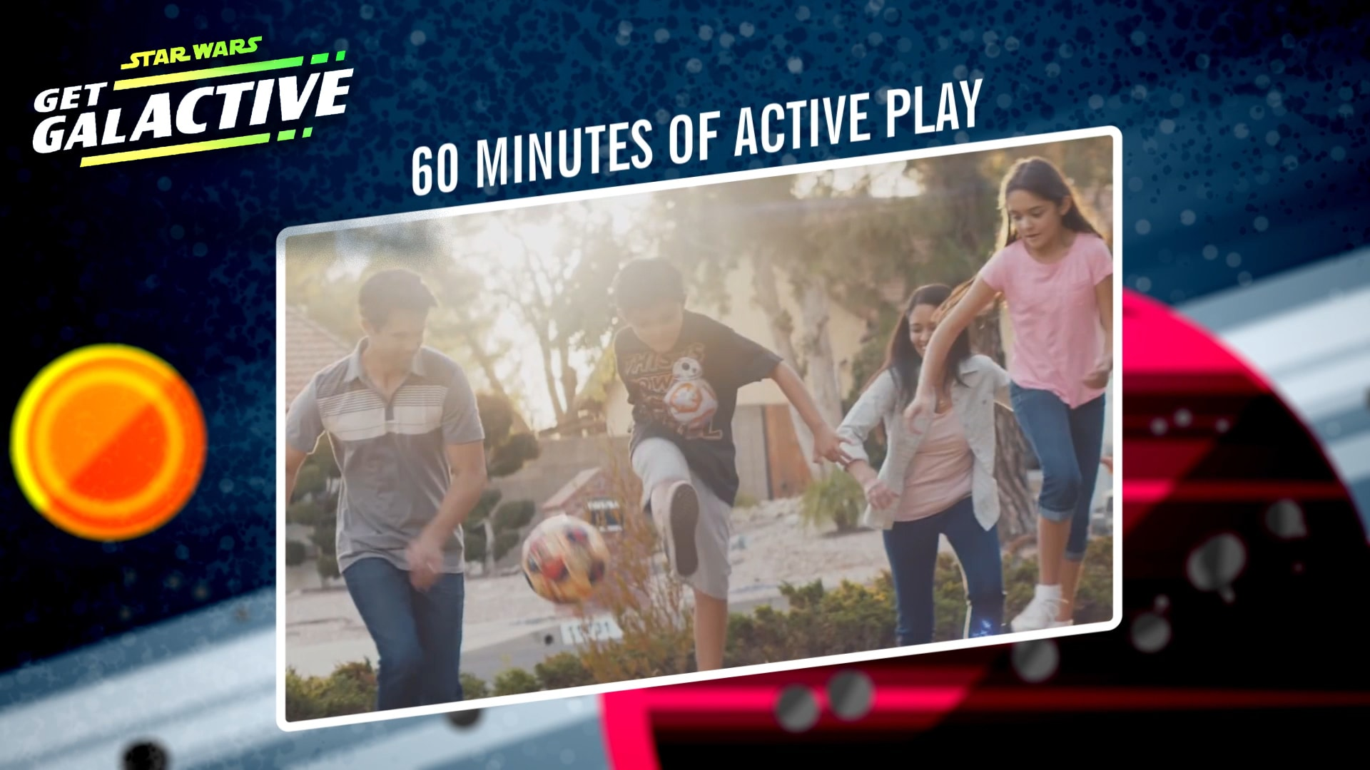 Physical Activity | Star Wars: Get Galactive