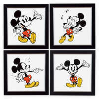 Image of Ethan Allen Mickey Shorts Artwork Collection # 1