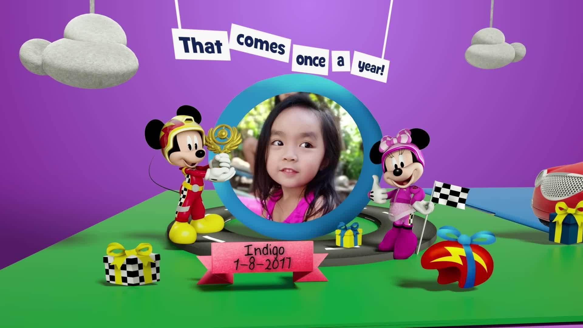 Disney Junior Birthday Book 2021 August Album 1