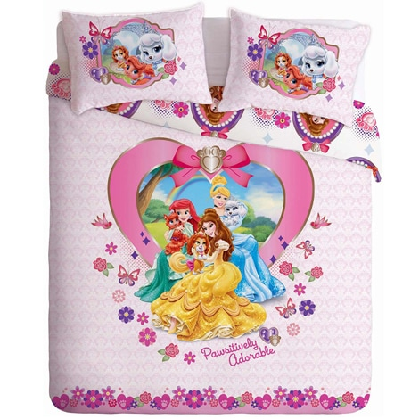 Disney Princess Palace Pets Bed Linen A
