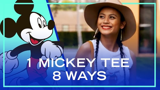 1 Mickey Tee, 8 Ways | Fashion by Disney Style
