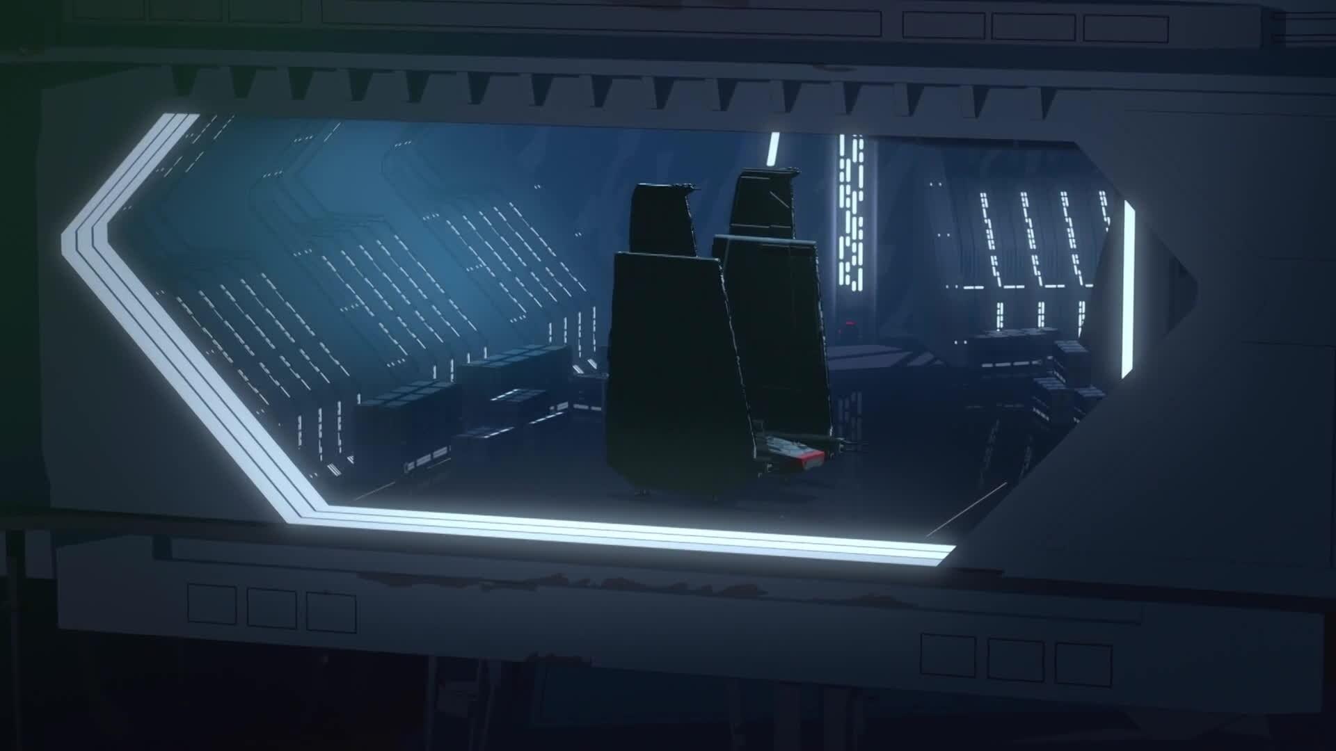 Star Wars Resistance - Station Theta Black
