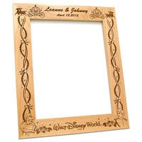 Prince Charming and Cinderella  8'' x 10'' Frame by Arribas - Personalizable