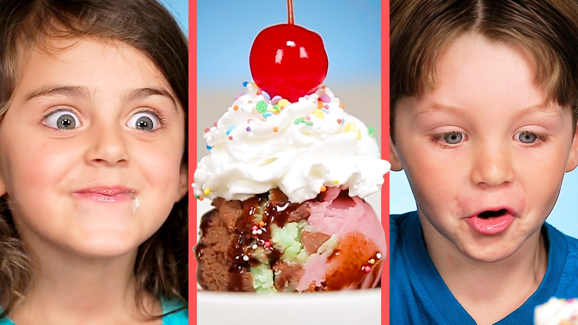 "Parents Prank Kids with Mashed Potato ""Ice Cream"" 