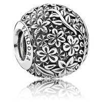 Image of Epcot Floral Charm by Pandora Jewelry # 1