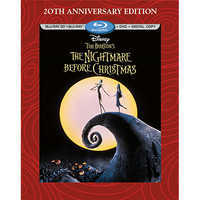 Image of Tim Burton's The Nightmare Before Christmas 3-D Blu-ray 3-Disc Combo Pack # 1