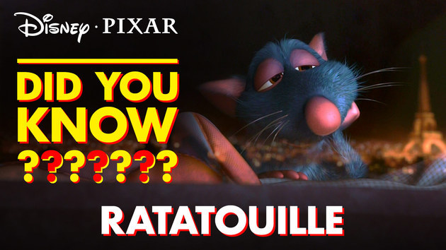 Pixar Did You Know? | Facts About Ratatouille