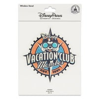 Mickey Mouse Window Decal - Disney Vaction Club Member
