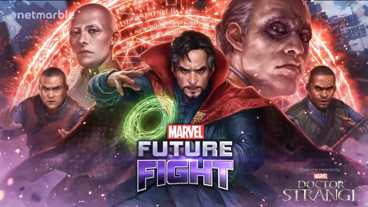 Doctor Strange joins Marvel Future Fight - Trailer #2