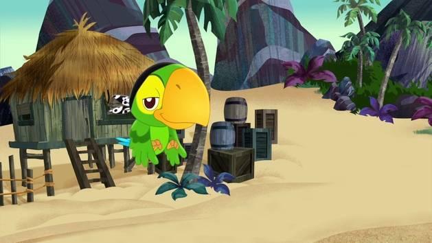 Jake en de Nooitgedachtland Piraten - Spelen met Skully 2