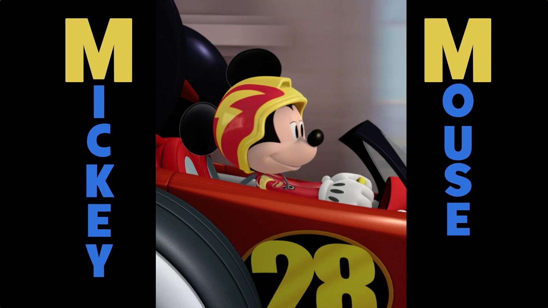 El rap de la A a la Z de Mickey: Aventuras sobre ruedas