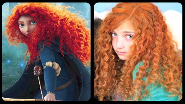Brave Inspired Hairstyle Tutorial - A Cutegirlshairstyles Disney Exclusive
