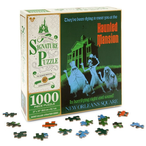 The Haunted Mansion Attraction Poster Jigsaw Puzzle - Disneyland