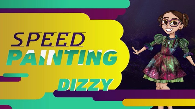 Los Descendientes 2 – Speed Painting: Dizzy