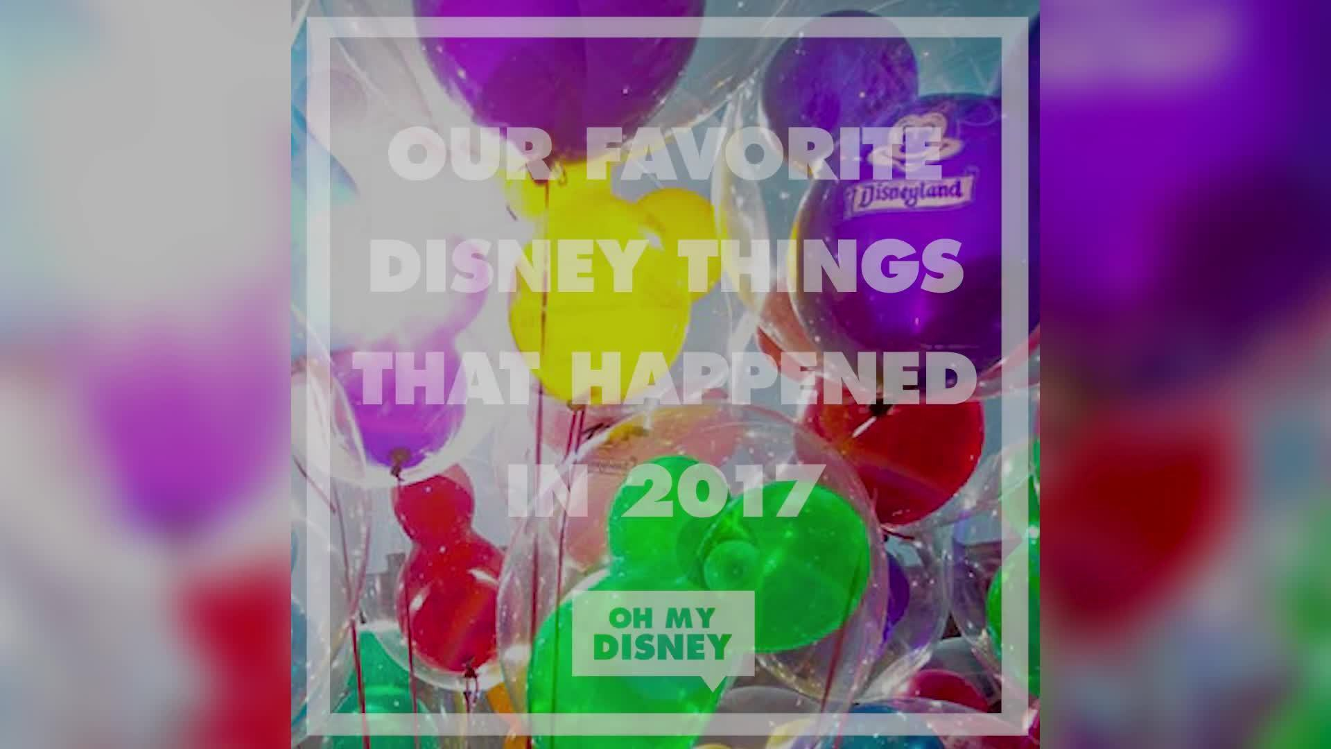 The Best Disney Moments of 2017 | Oh My Disney
