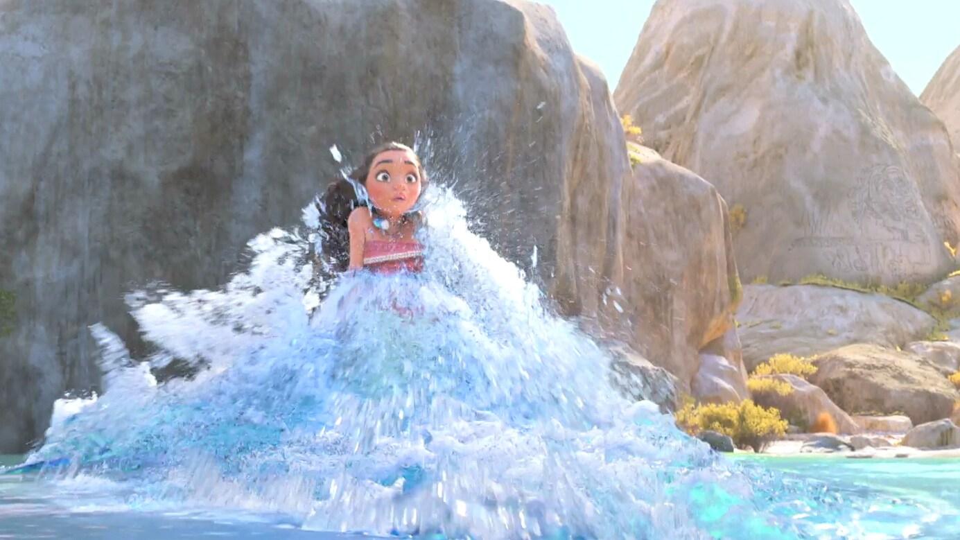 """""""Ocean Insists"""" Clip - Disney's Moana"""