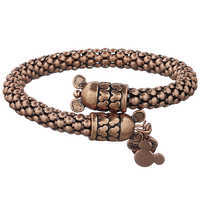 Image of Mickey Mouse Metal Wrap Bracelet by Alex and Ani # 4