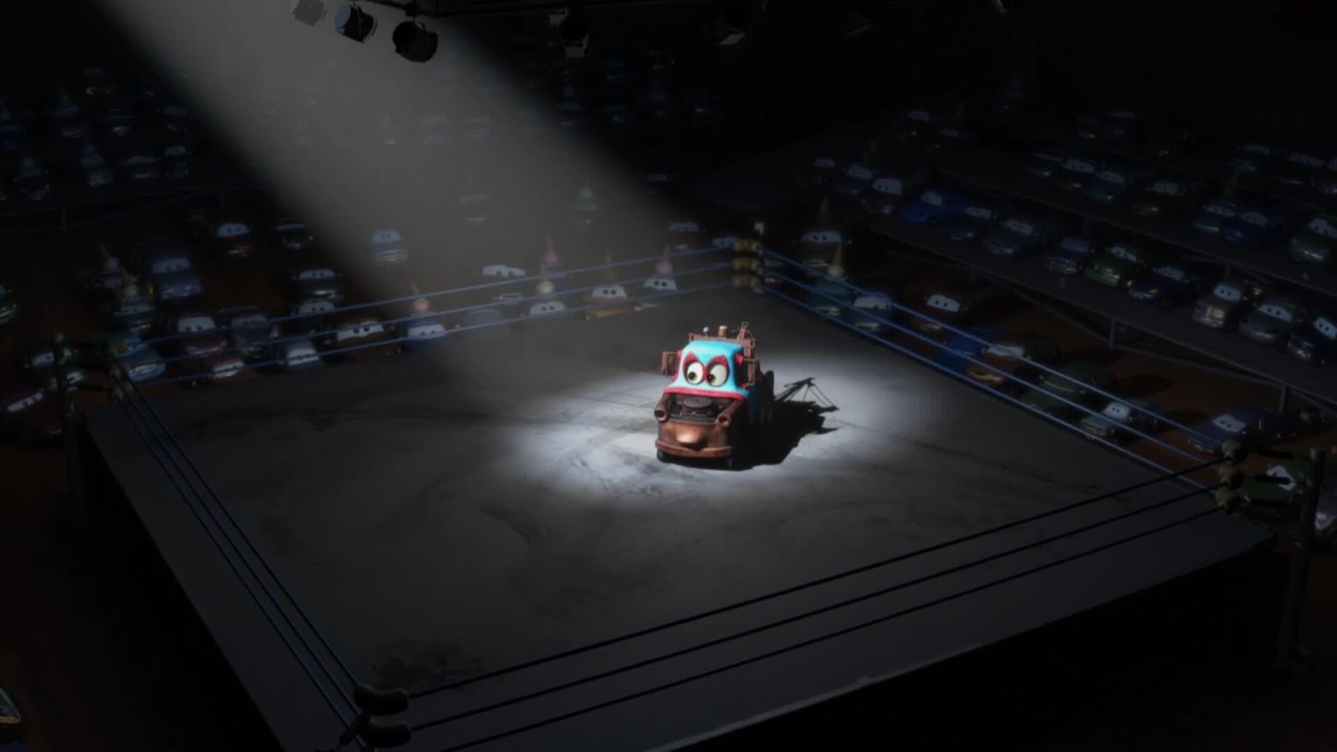 Cars Toons - Martin poids lourd