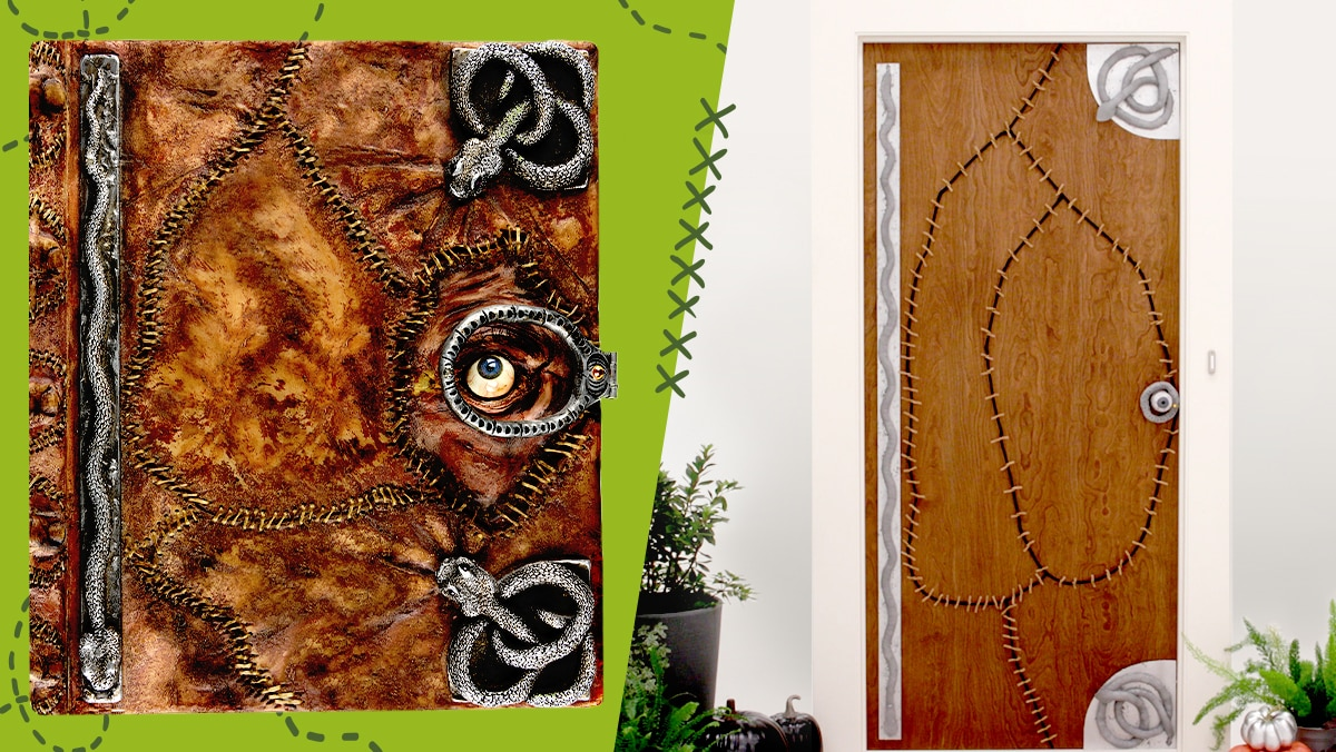 Hocus Pocus Halloween Door Decor | Disney DIY by Disney Family