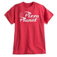 Image of Pizza Planet Logo Tee for Men - Toy Story # 1