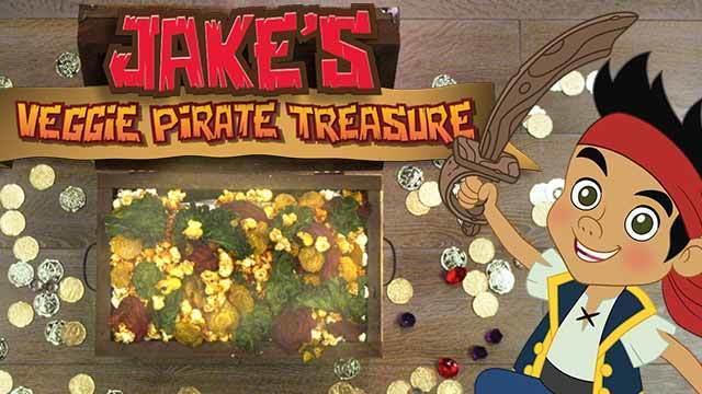 Jake's Veggie PirateTreasure