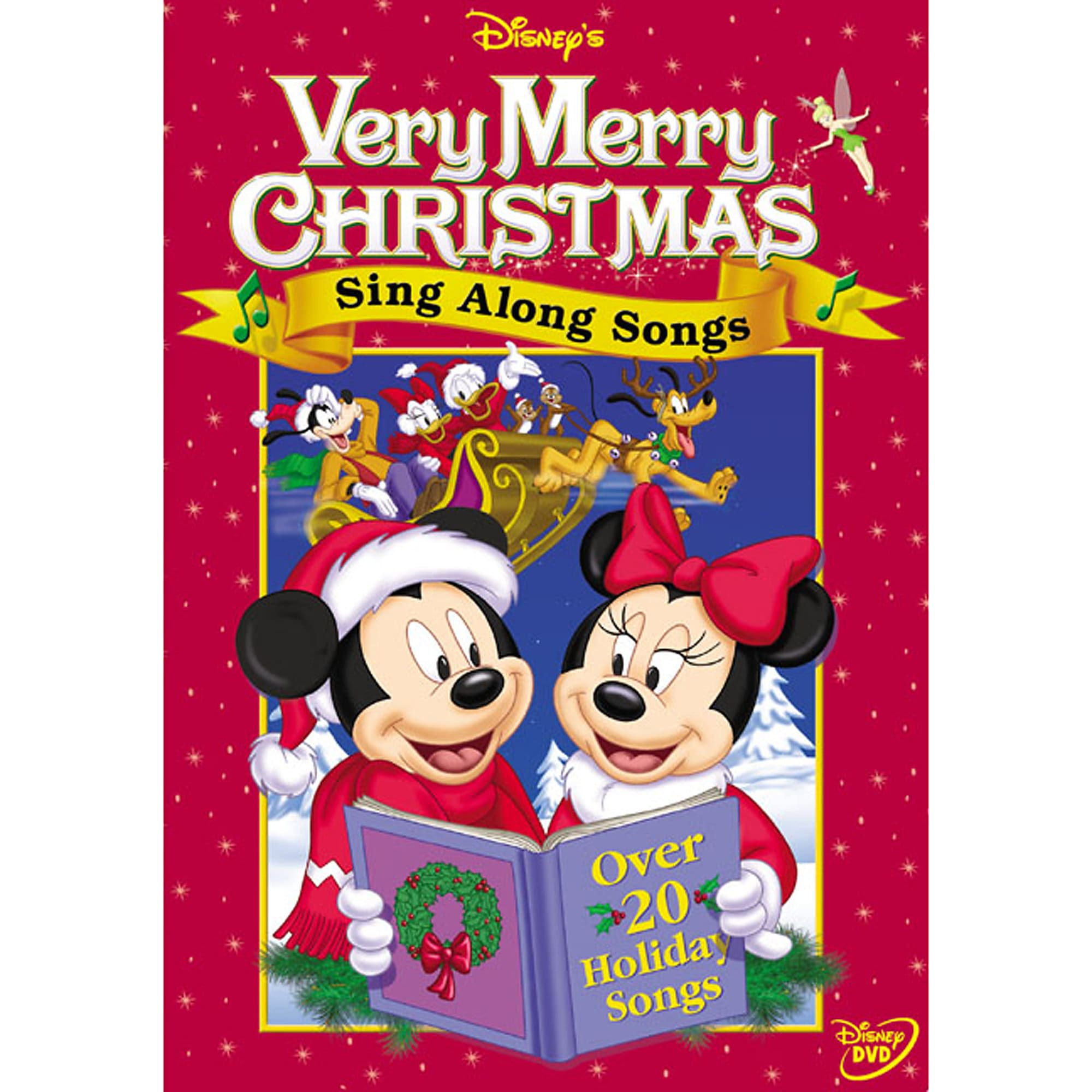 Sing Along Songs: Very Merry Christmas Songs DVD | shopDisney