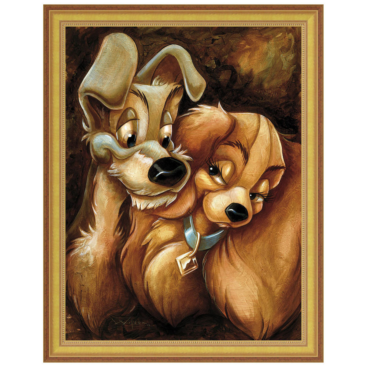 product image of lady and the tramp gicle by darren wilson