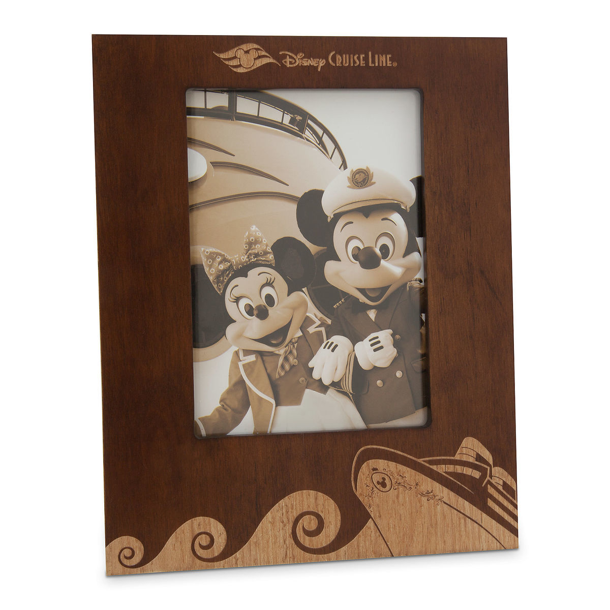 Disney Cruise Line Wood Photo Frame 5 X 7 Shopdisney