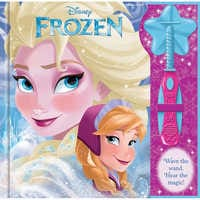Image of Frozen Book with Wand # 1