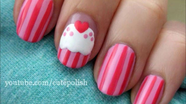 Sweet pink cupcake nails disney video video thumbnail for sweet pink cupcake nails prinsesfo Image collections