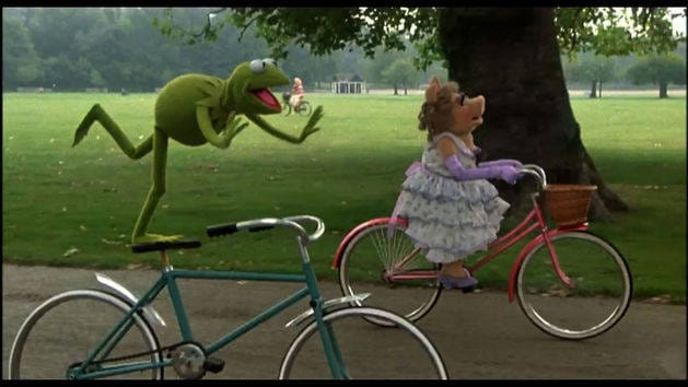 Bicycle Scene The Great Muppet Caper Clip Disney Video