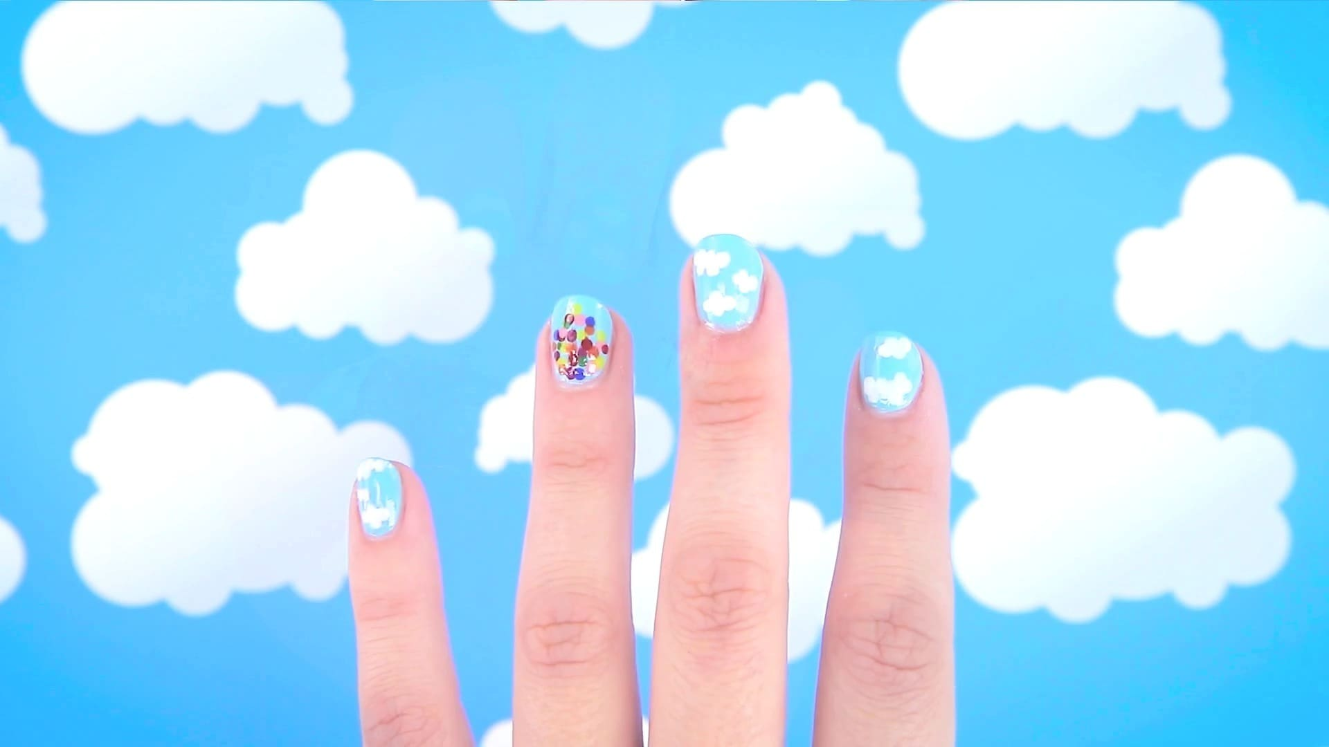 UP-Inspired Nail Art