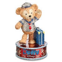 Image of Duffy the Disney Bear Figurine by Arribas Brothers # 1